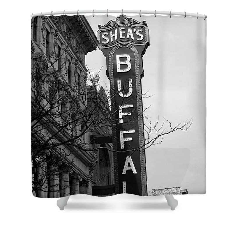 Sheas Buffalo Shower Curtain Featuring The Photograph Sheass By Kathleen Struckle