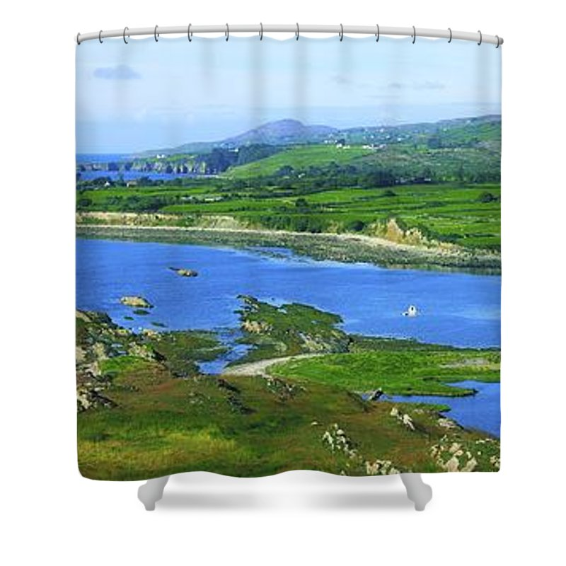 Beauty In Nature Shower Curtain featuring the photograph Sheeps Head, Co Cork, Ireland Headland by The Irish Image Collection
