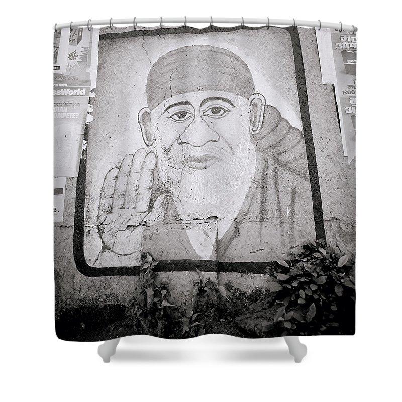 Shirdi Sai Baba In Bombay Shower Curtain For Sale By Shaun Higson