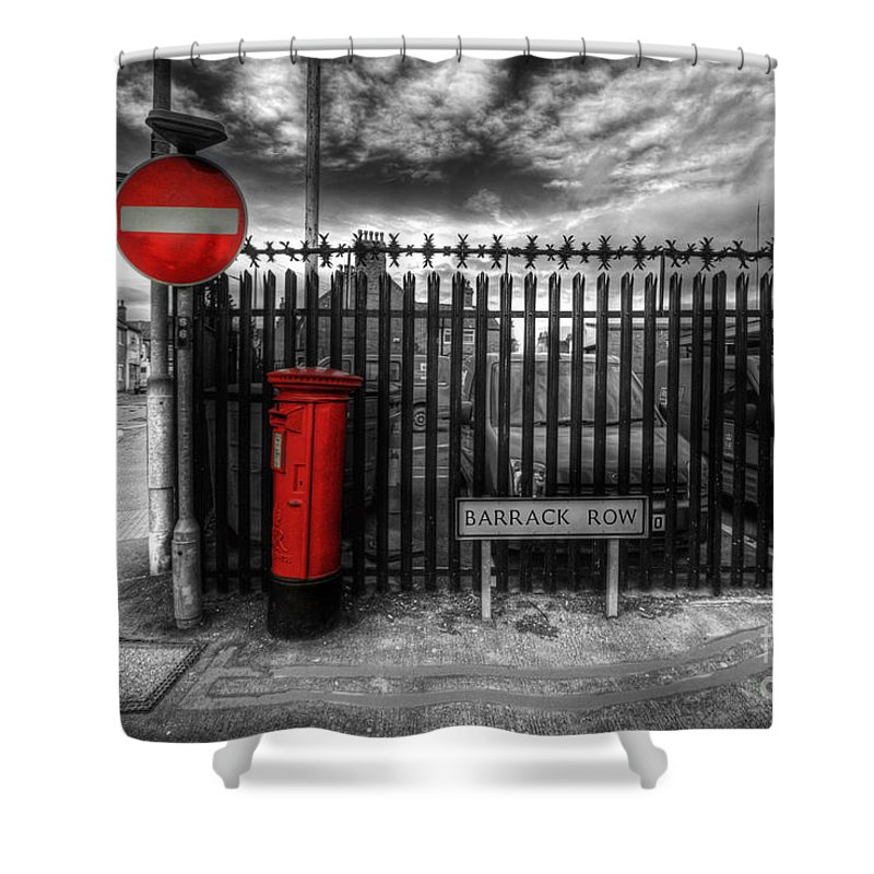 Yhun Suarez Shower Curtain featuring the photograph Sign Sealed Delivered by Yhun Suarez
