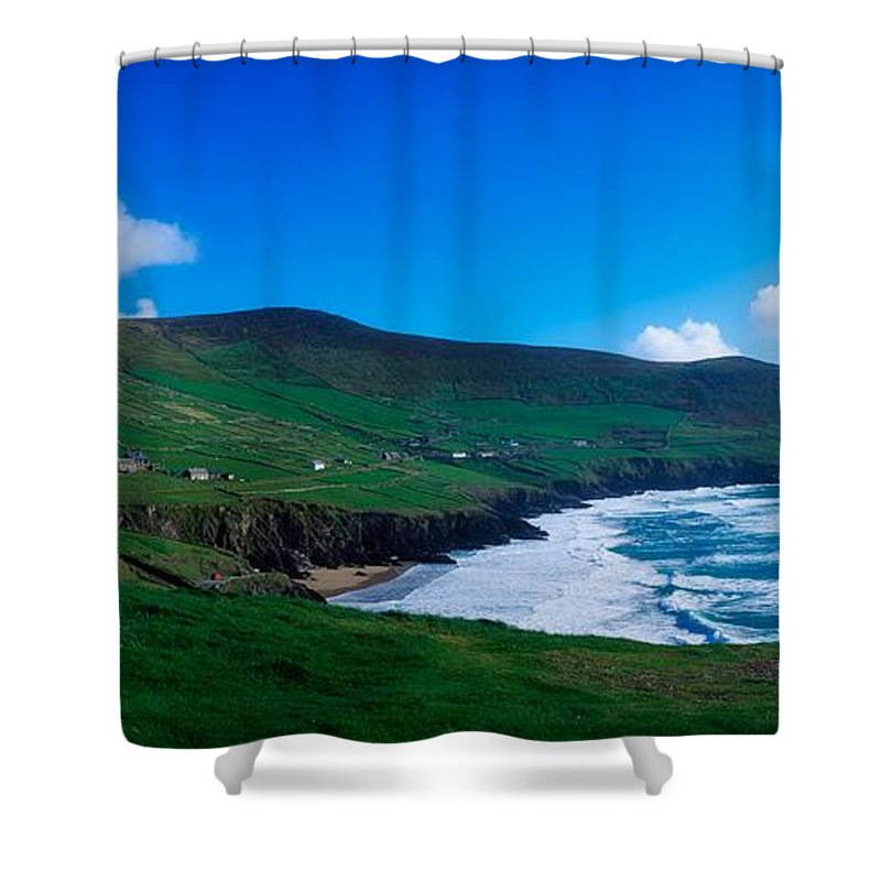 Atmosphere Shower Curtain featuring the photograph Slea Head, Dingle Peninsula, Co Kerry by The Irish Image Collection