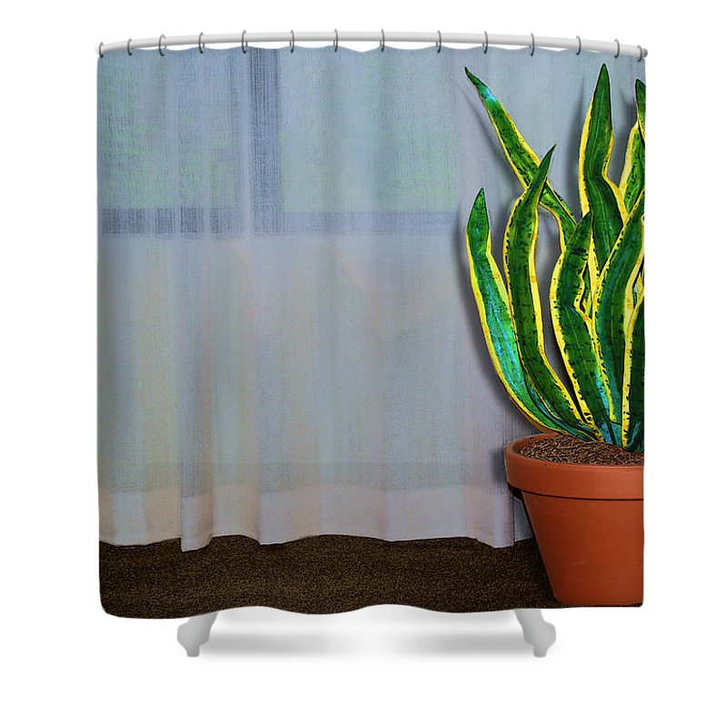Solitude Shower Curtain featuring the photograph Solitude by Paul Wear