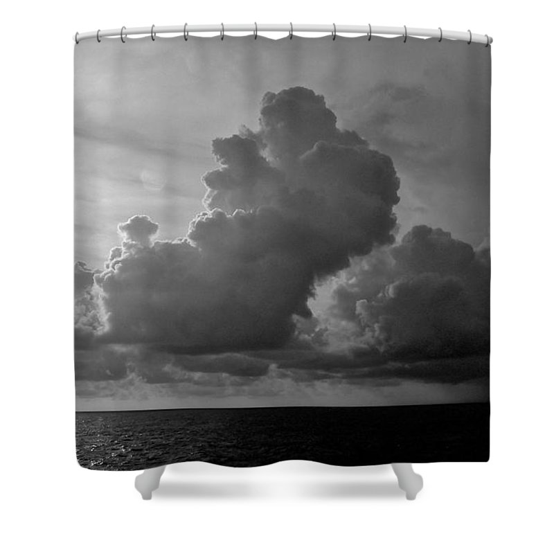 South Pacific Shower Curtain featuring the photograph South Pacific Sky by Eric Tressler