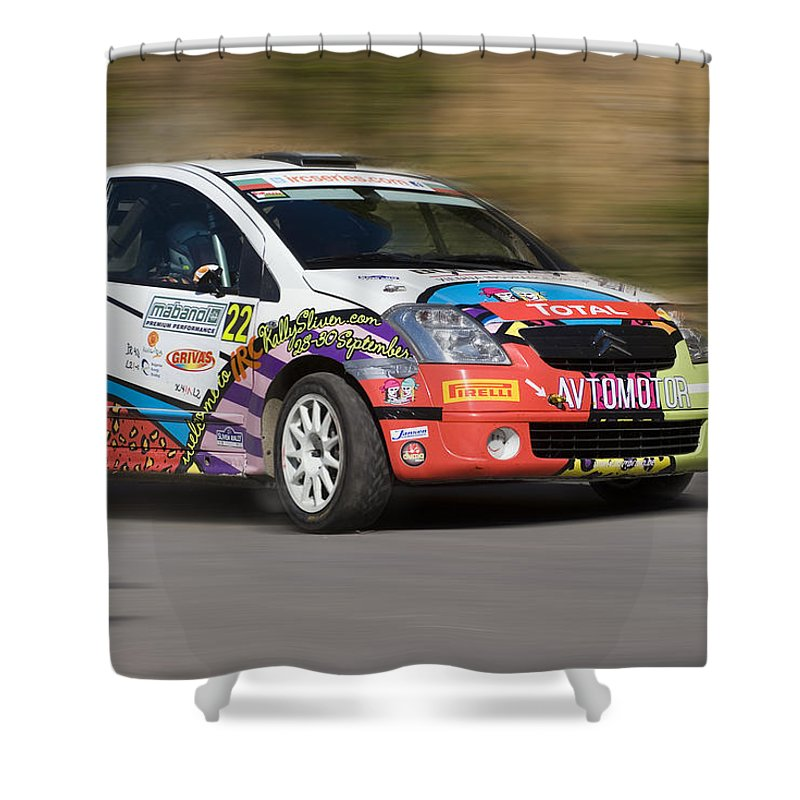 Speed Shower Curtain featuring the photograph Speed by Cliff Norton