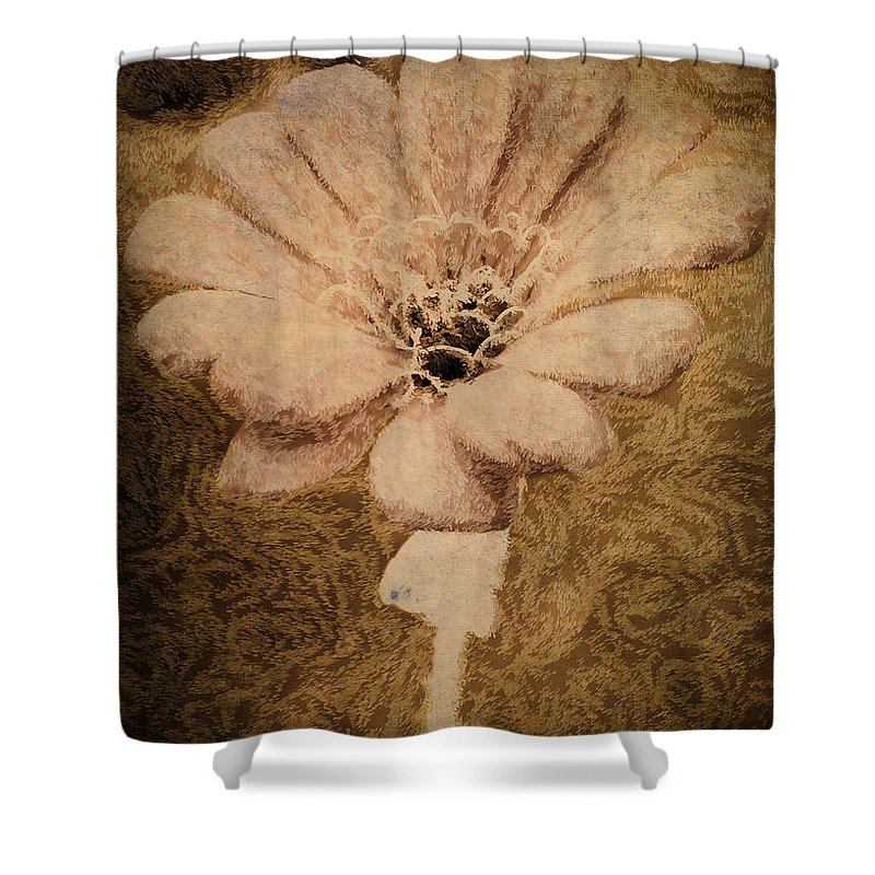 Flower Shower Curtain featuring the photograph Stay Strong by Trish Tritz
