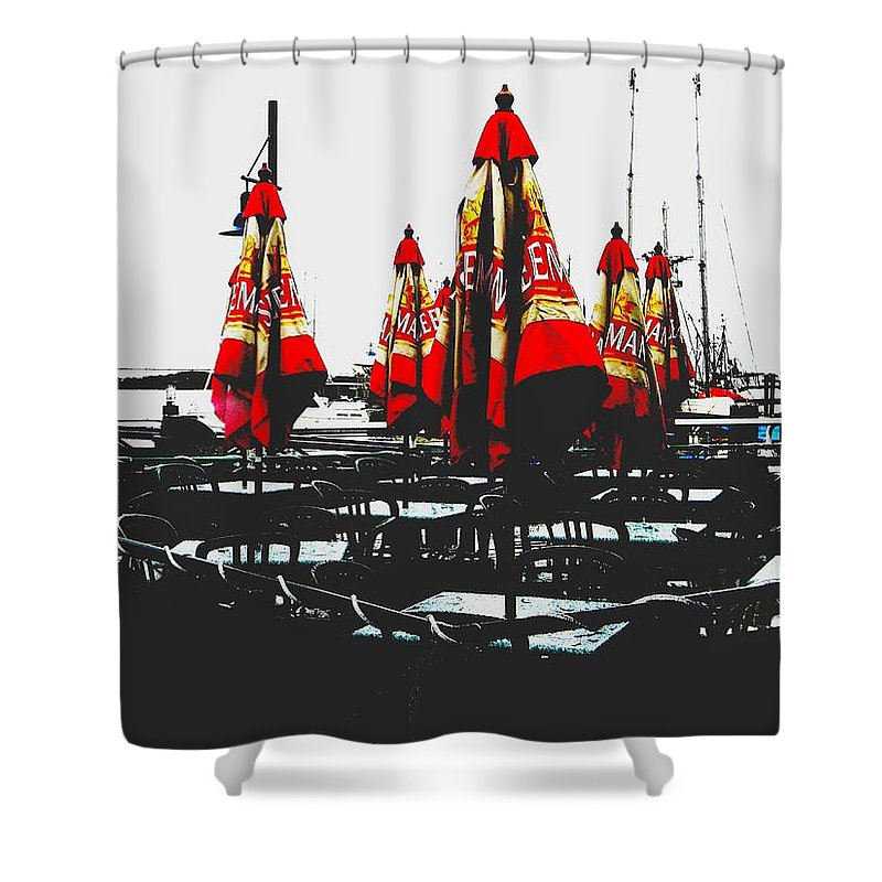 Vancouver Shower Curtain featuring the photograph Steveston 1 by Marwan George Khoury
