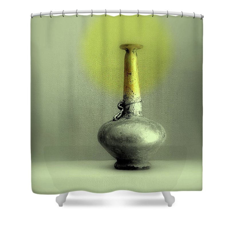 Vase Shower Curtain featuring the photograph Still Life - Genie Vessel by Kathleen Grace