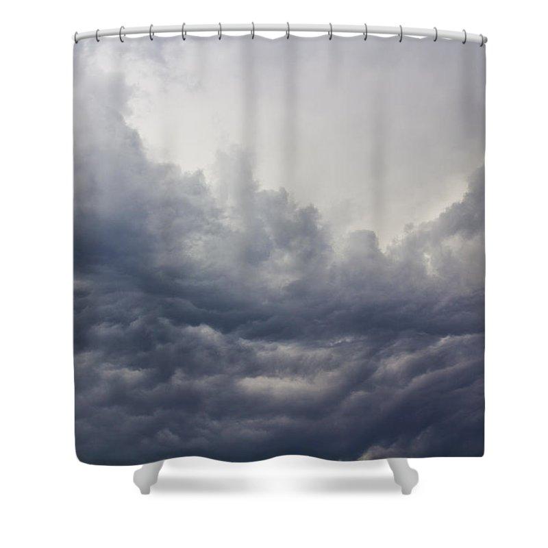 Vapor Shower Curtain featuring the photograph Storm by David Pyatt