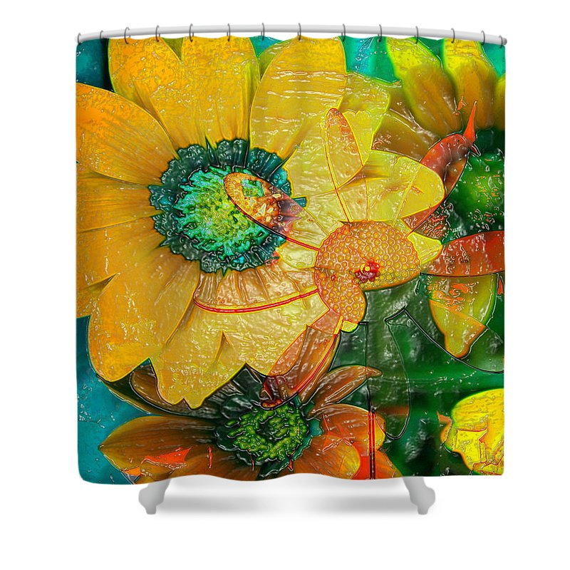 Jerry Cordeiro Shower Curtain featuring the photograph Summers Soup by The Artist Project