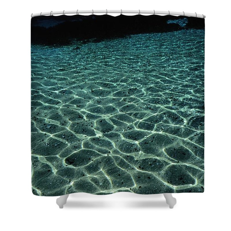united States Shower Curtain featuring the photograph Sunlight Reflected In The Water by Raymond Gehman