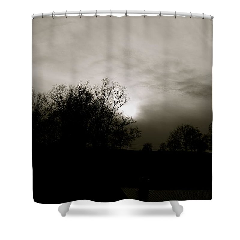Sunset Shower Curtain featuring the photograph Sunset by Kume Bryant