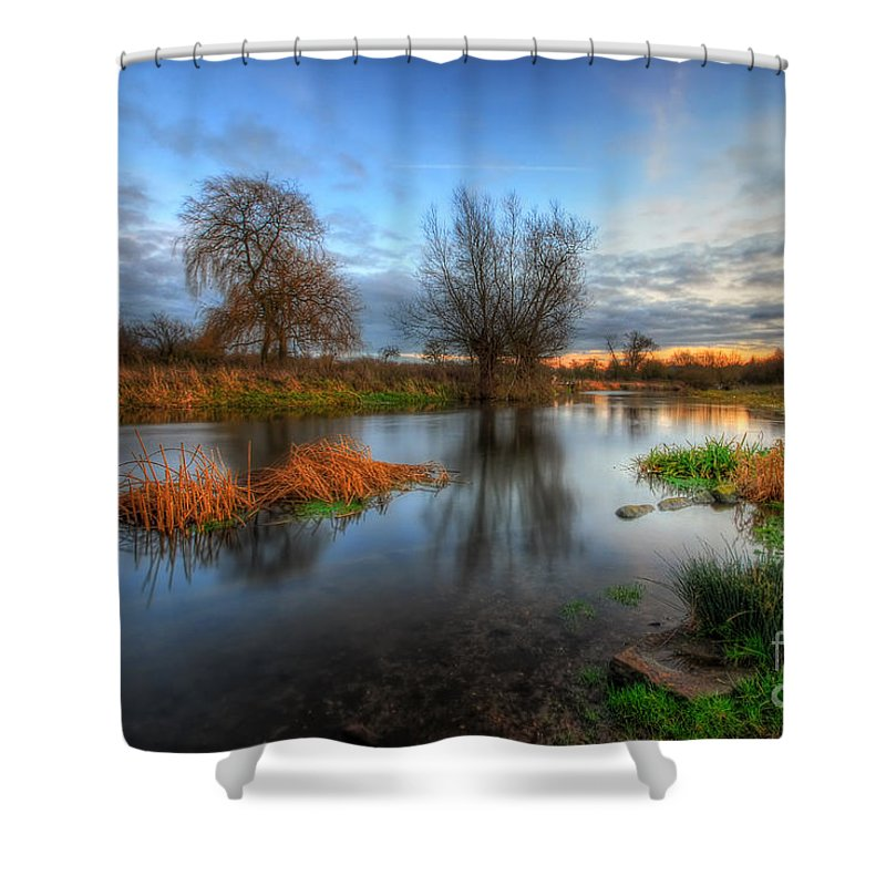 Hdr Shower Curtain featuring the photograph Swampy 2.0 by Yhun Suarez