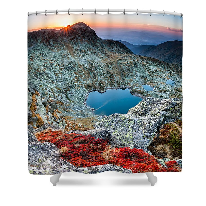 Bulgaria Shower Curtain featuring the photograph Tear Drops by Evgeni Dinev