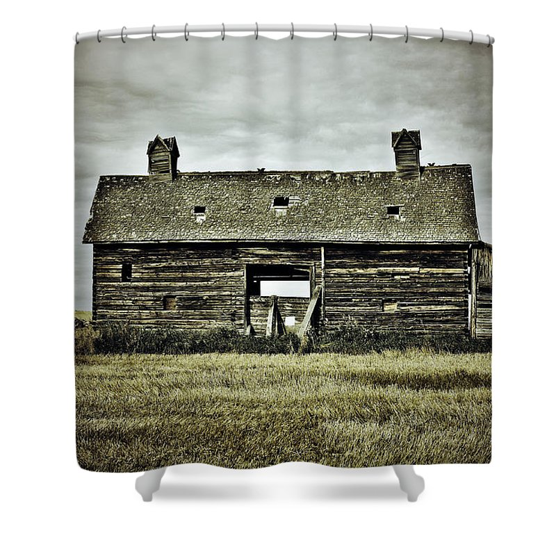 Photographer Shower Curtain featuring the photograph The Burns by The Artist Project