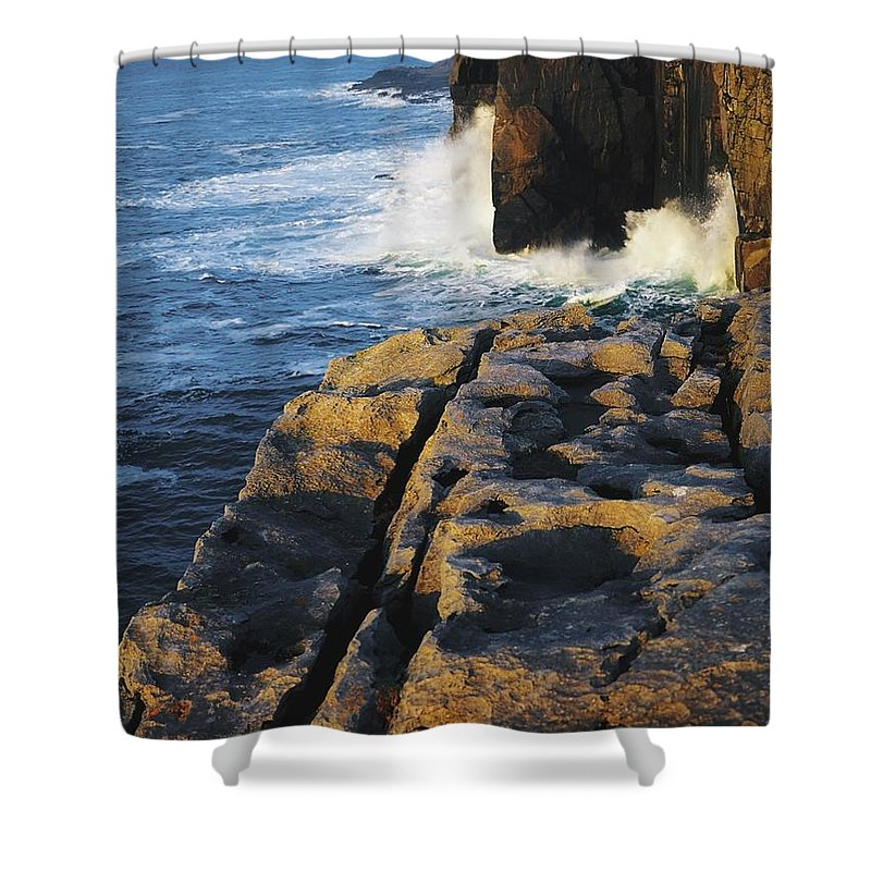 Burren Shower Curtain featuring the photograph The Burren, Co Clare, Ireland by The Irish Image Collection