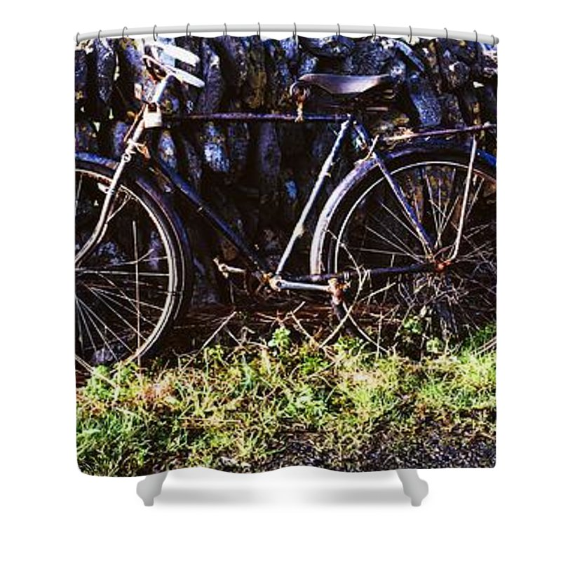 Outdoors Shower Curtain featuring the photograph The Burren, County Clare, Ireland by Sici