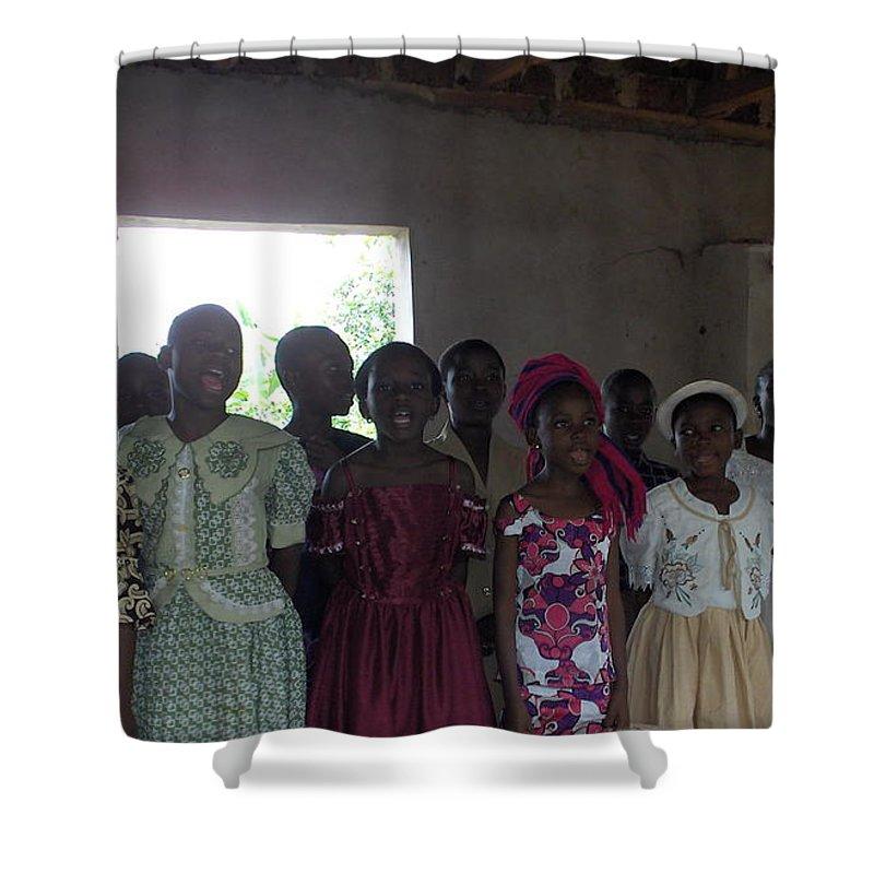 Choir Shower Curtain featuring the photograph The Choir by Amy Hosp