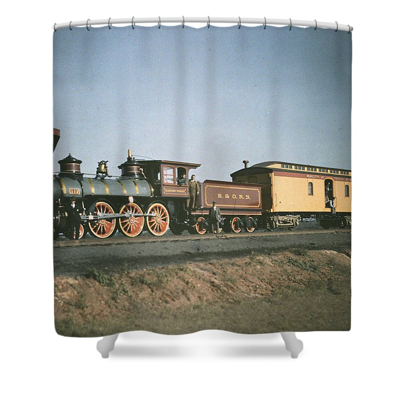 maryland Shower Curtain featuring the photograph The Fair Of The Iron Horse, Baltimore by Charles Martin