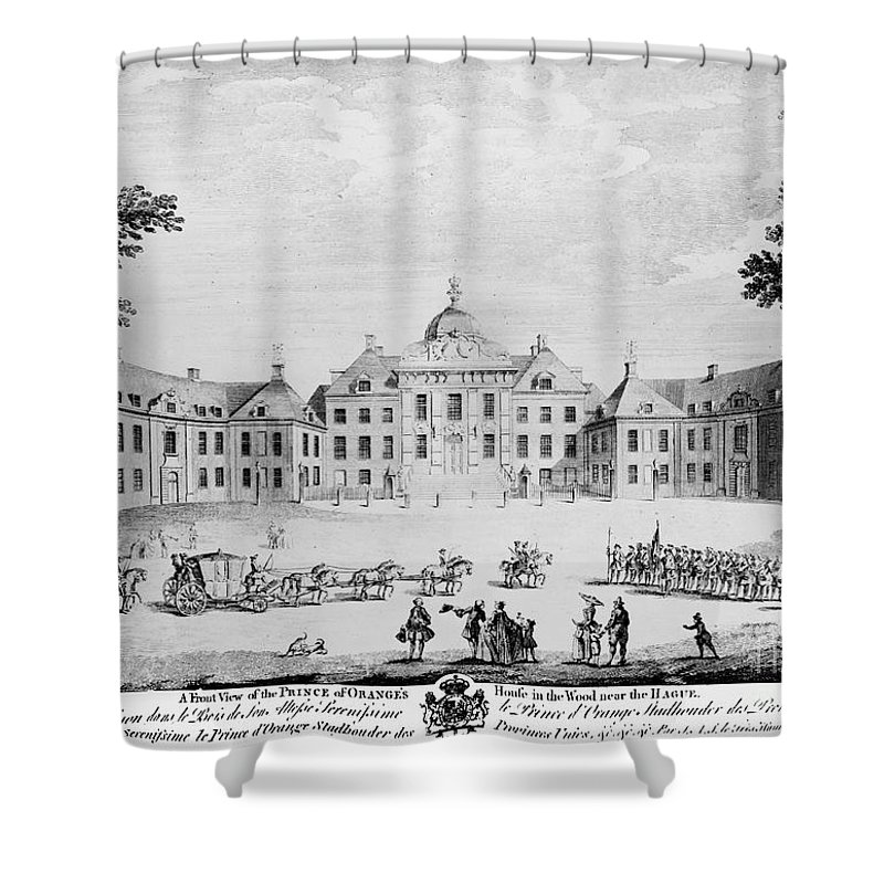 18th Century Shower Curtain featuring the photograph The Hague: Huis Ten Bosch by Granger