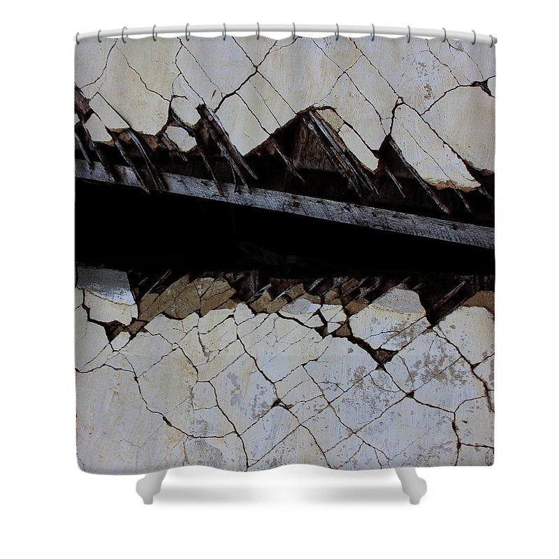 Street Shower Curtain featuring the photograph The Hills That Fossil by The Artist Project