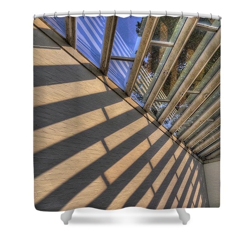 Photography Shower Curtain featuring the photograph The Light by Paul Wear