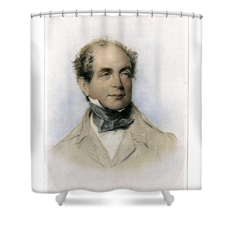 19th Century Shower Curtain featuring the photograph Thomas Moore (1779-1852) by Granger