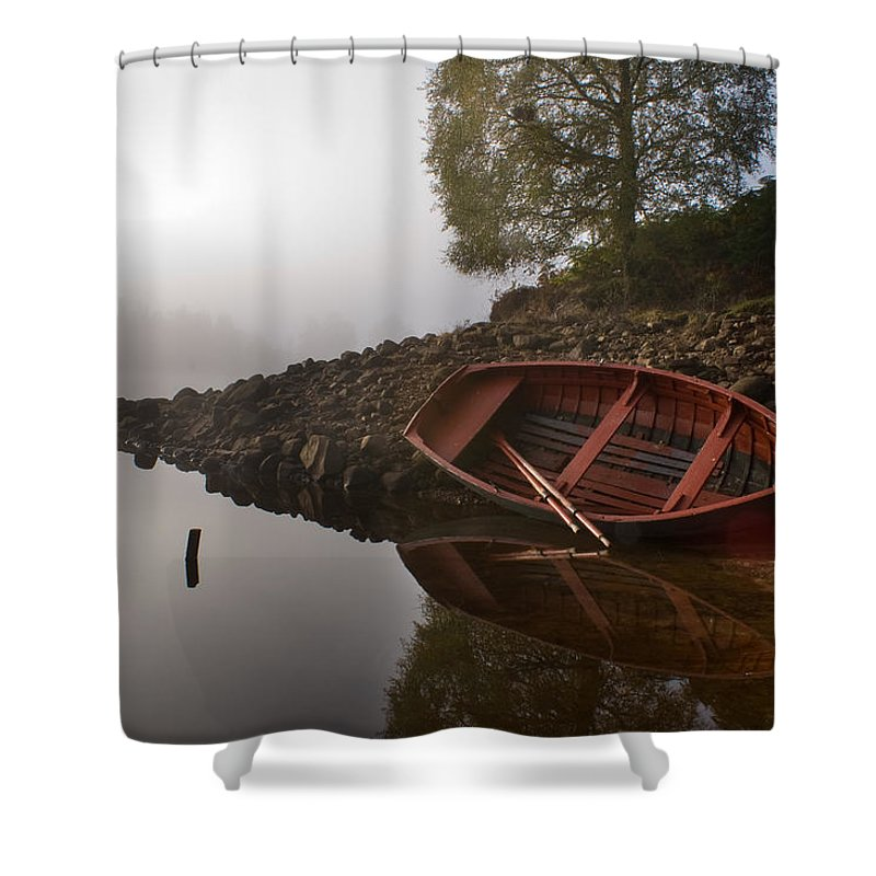 Mist Shower Curtain featuring the photograph Timeless Moment by Howard Kennedy
