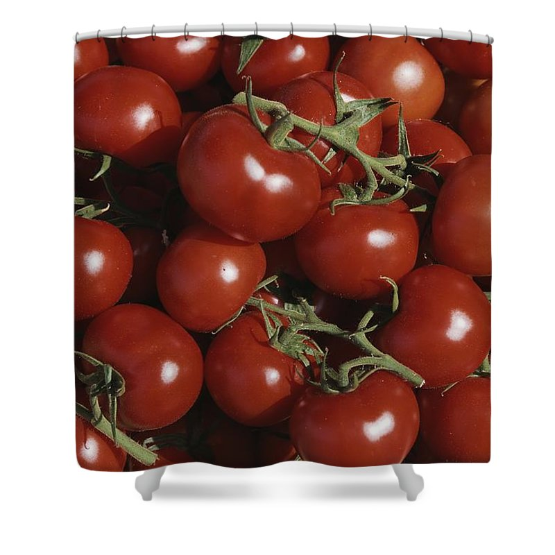 Europe Shower Curtain featuring the photograph Tomatoes At A Market In Provence by Nicole Duplaix