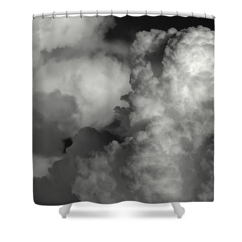 Touch Me Shower Curtain featuring the photograph Touch Me by Edward Smith