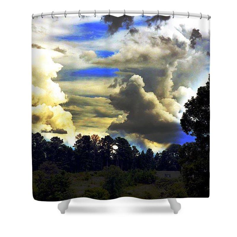 Underdog Shower Curtain featuring the photograph Underdog by Maria Urso
