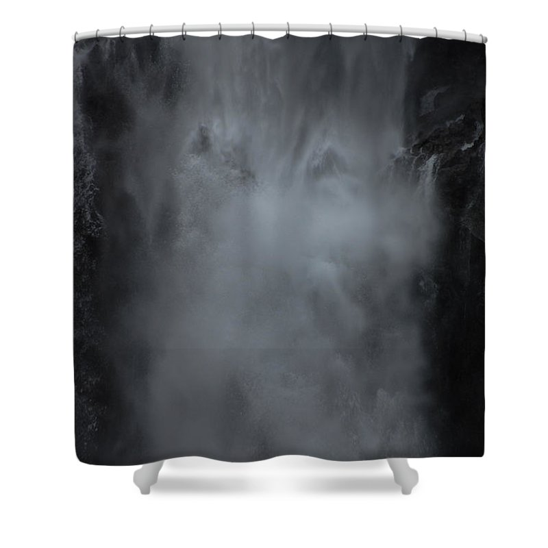 Scenic Shower Curtain featuring the photograph Untapped Power by Jonah Anderson