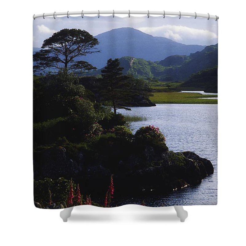 Co Kerry Shower Curtain featuring the photograph Upper Lake, Killarney, Co Kerry by The Irish Image Collection