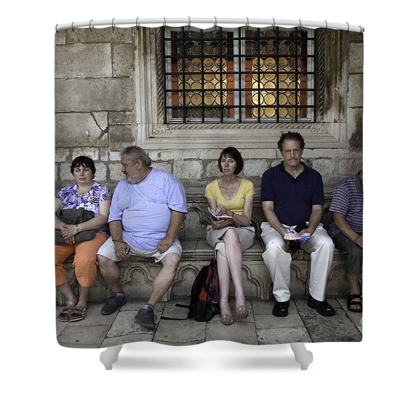Vacation Shower Curtain featuring the photograph Vacation In Venice by Madeline Ellis
