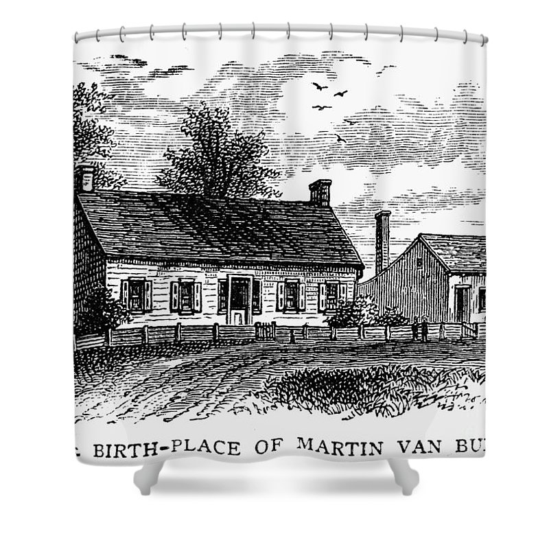 1782 Shower Curtain featuring the photograph Van Buren: Birthplace by Granger
