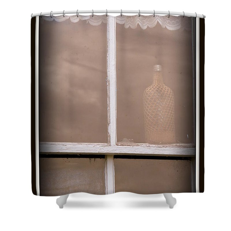 Old Florida Shower Curtain featuring the photograph Vintage by Priscilla Richardson