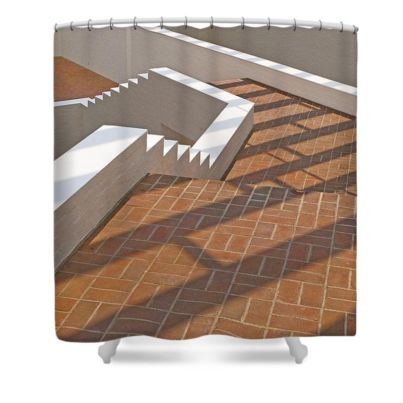 Photography Shower Curtain featuring the photograph Walk This Way by Paul Wear