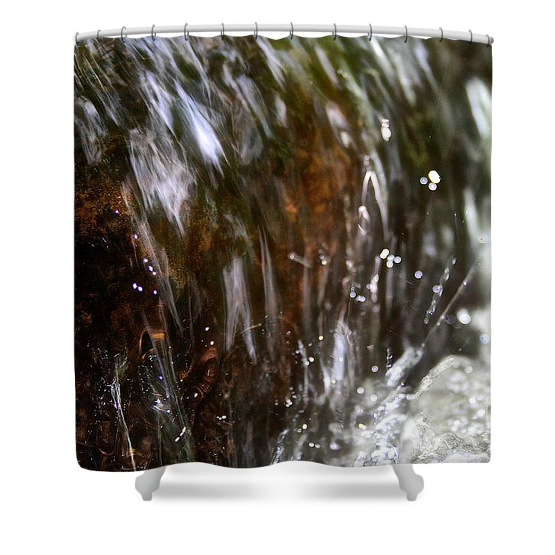 Outdoors Shower Curtain featuring the photograph Water Wrapped by Susan Herber