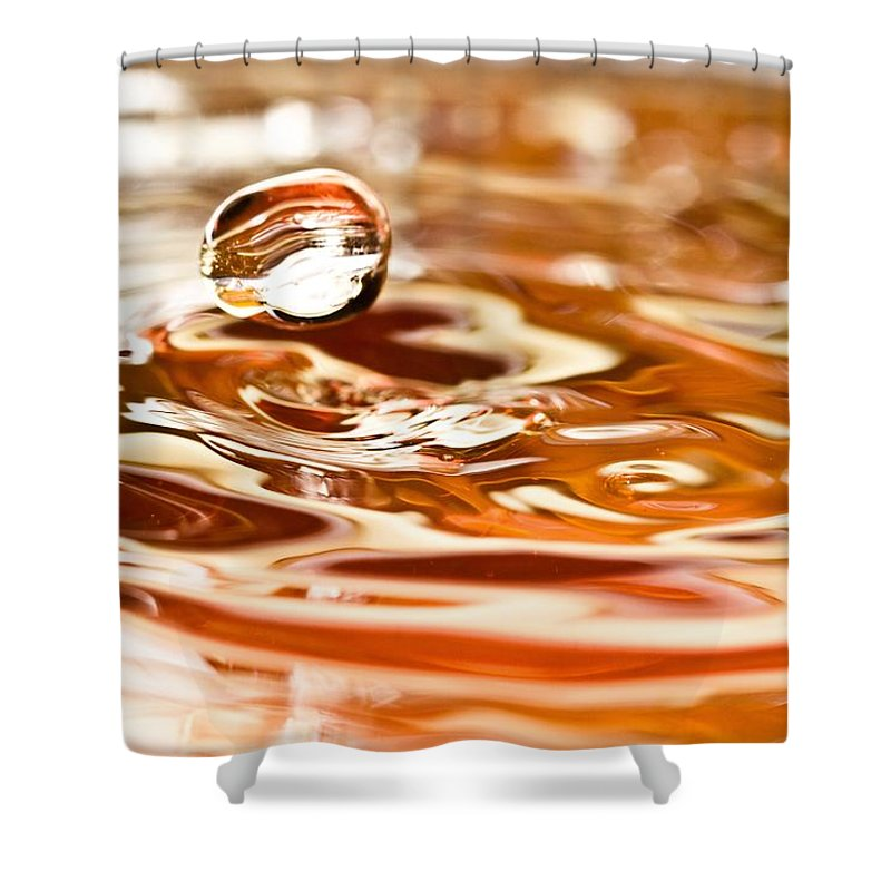 Water Shower Curtain featuring the photograph Waterdrop8 by Danielle Silveira