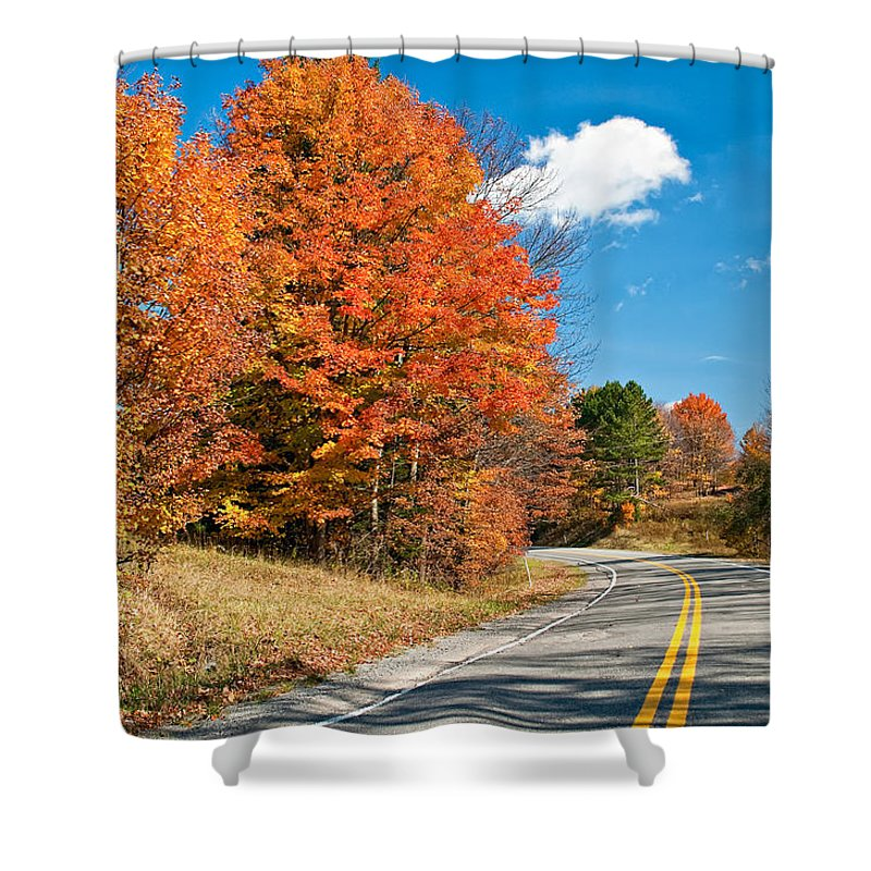West Virginia Shower Curtain featuring the photograph West Virginia Wandering 4 by Steve Harrington