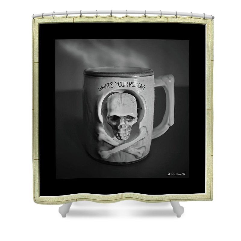 2d Shower Curtain featuring the photograph What A Mug by Brian Wallace
