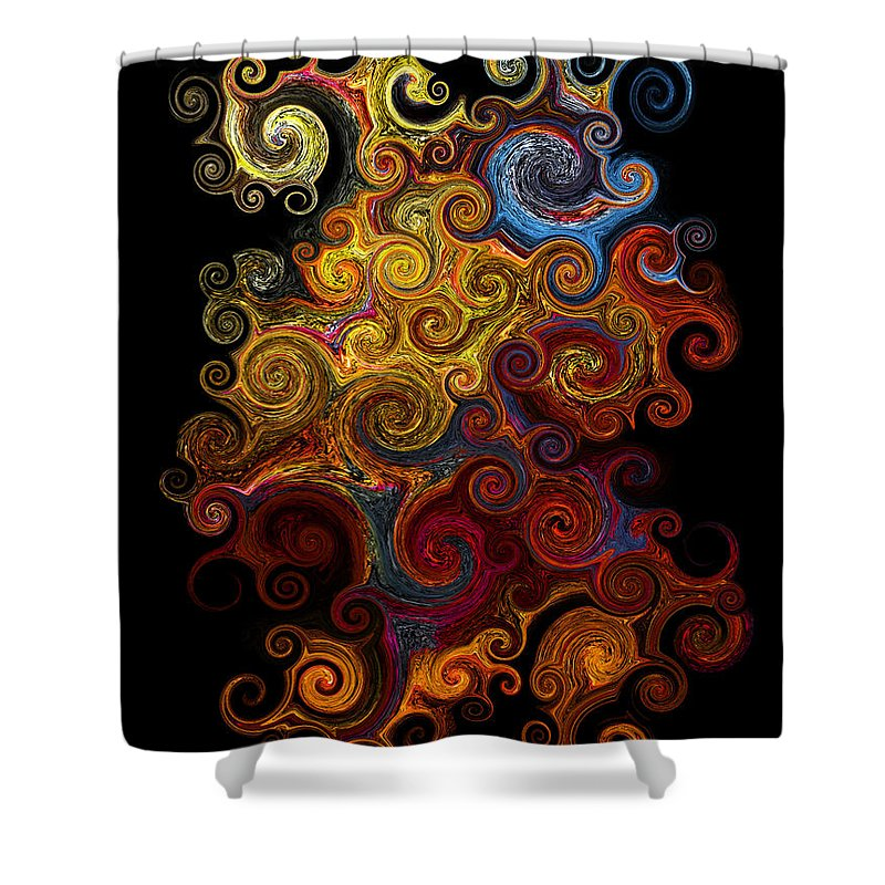 Photograph Shower Curtain featuring the photograph Wheels Keep On Turning by Vicki Pelham