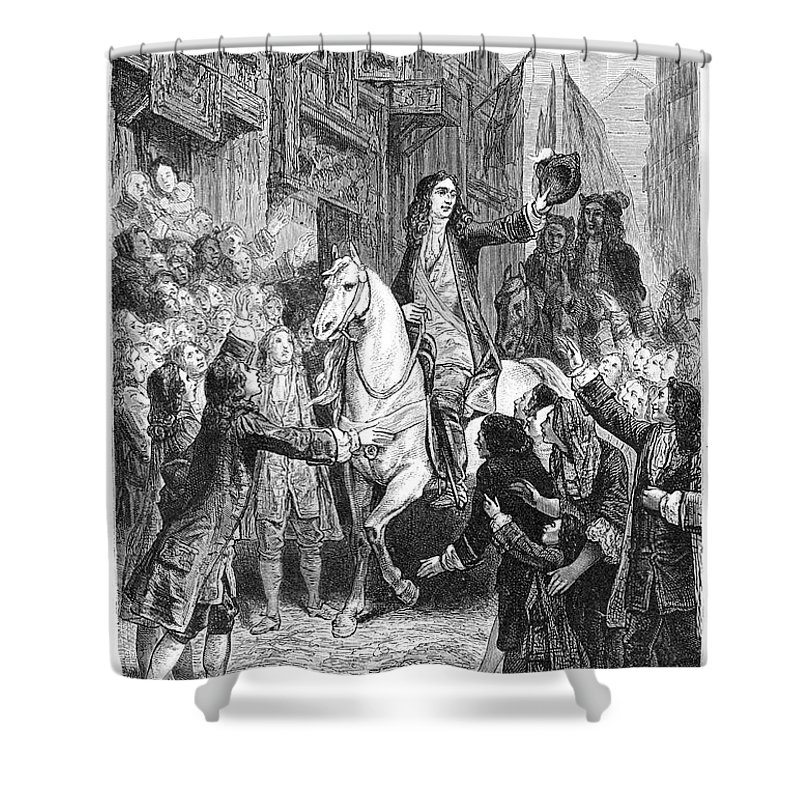 1688 Shower Curtain featuring the photograph William IIi Of England by Granger