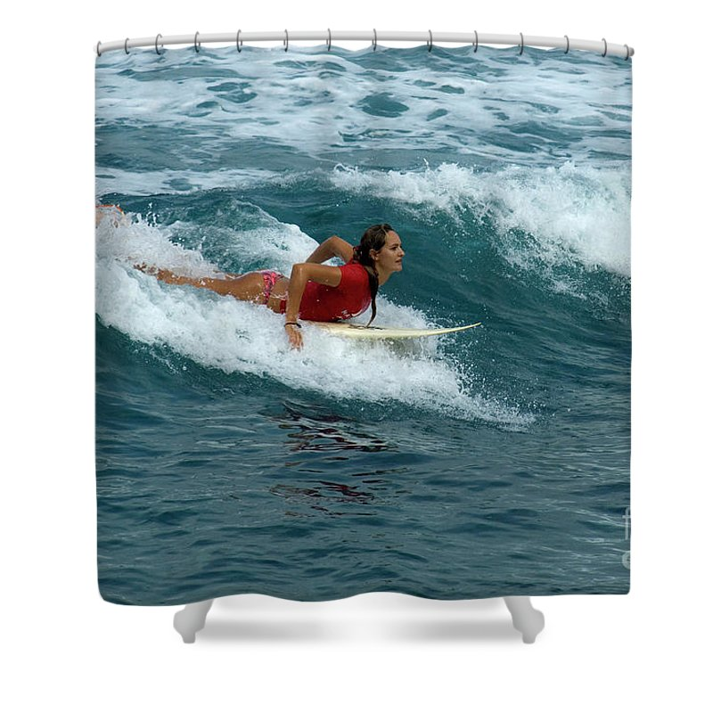 Winter Shower Curtain featuring the photograph Winter In Hawaii 1 by Bob Christopher