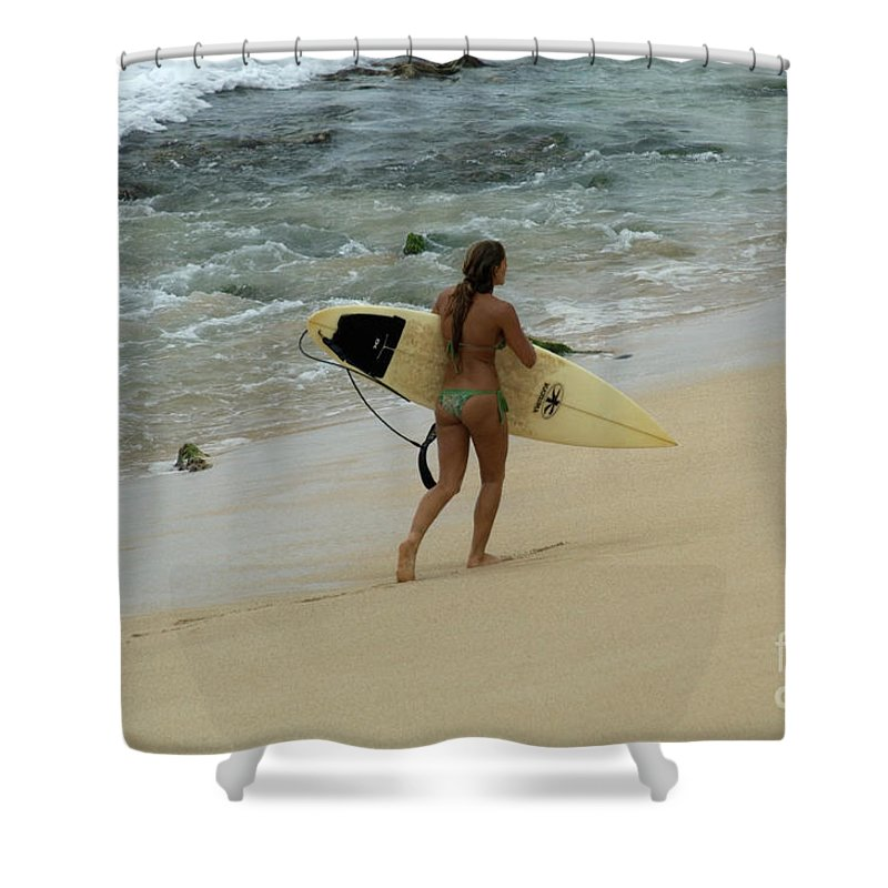 Winter Shower Curtain featuring the photograph Winter In Hawaii 4 by Bob Christopher