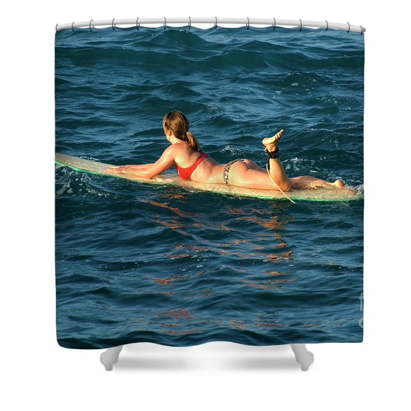 Winter Shower Curtain featuring the photograph Winter In Hawaii 6 by Bob Christopher