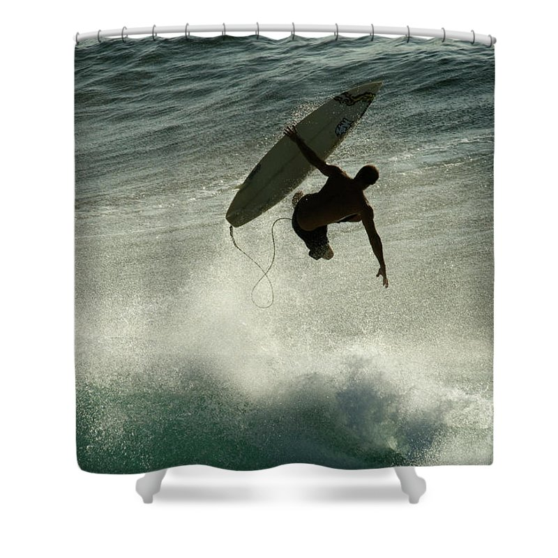 Winter Shower Curtain featuring the photograph Winter In Hawaii 7 by Bob Christopher