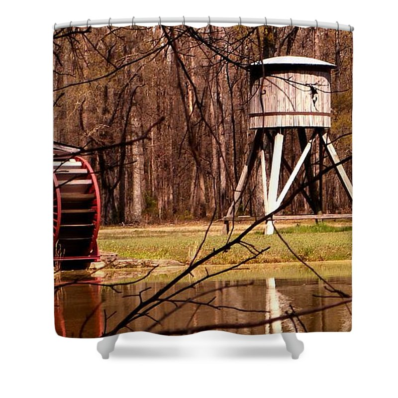 Railroad Shower Curtain featuring the photograph Yesterday by Mark Moore