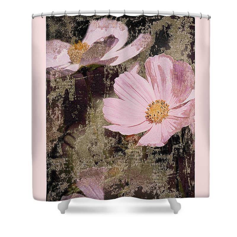 Old Shower Curtain featuring the photograph Yesterdays by Karen Lewis