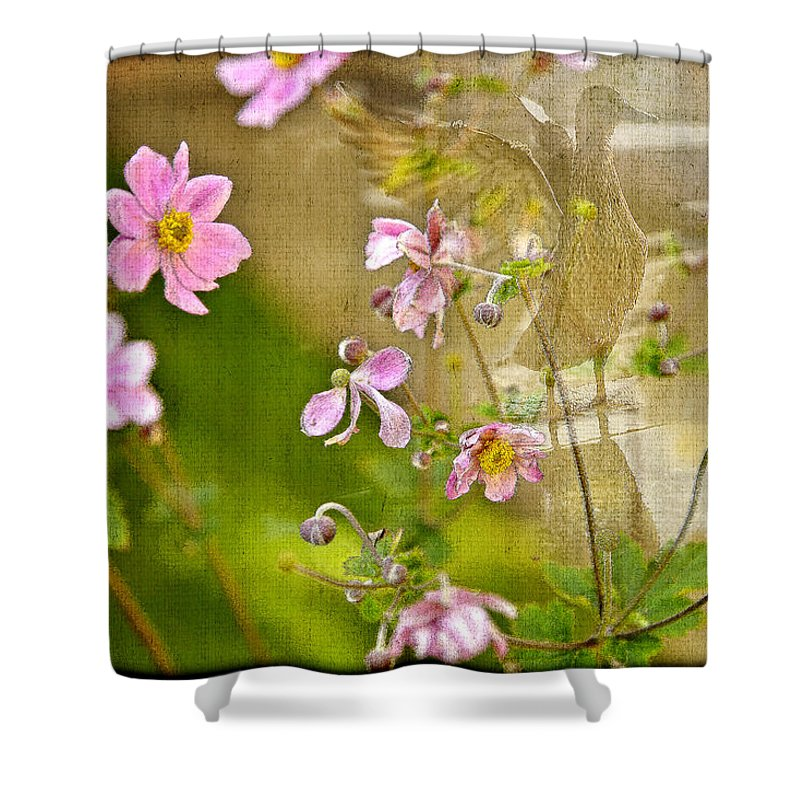 Flowers Shower Curtain featuring the photograph Youth Is Fleeting by Madeline Ellis