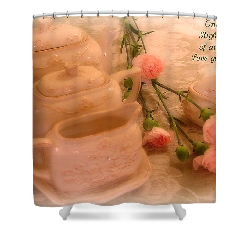 Kathy Bucari Shower Curtain featuring the photograph Fairy Tale by Kathy Bucari